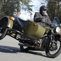 Мотоцикл Урал: главный по бездорожью