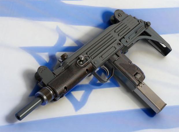 Узи: патриот Израиля во всей красе