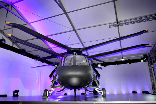 S-97 Raider: будущее винтокрылых машин (5 фото)