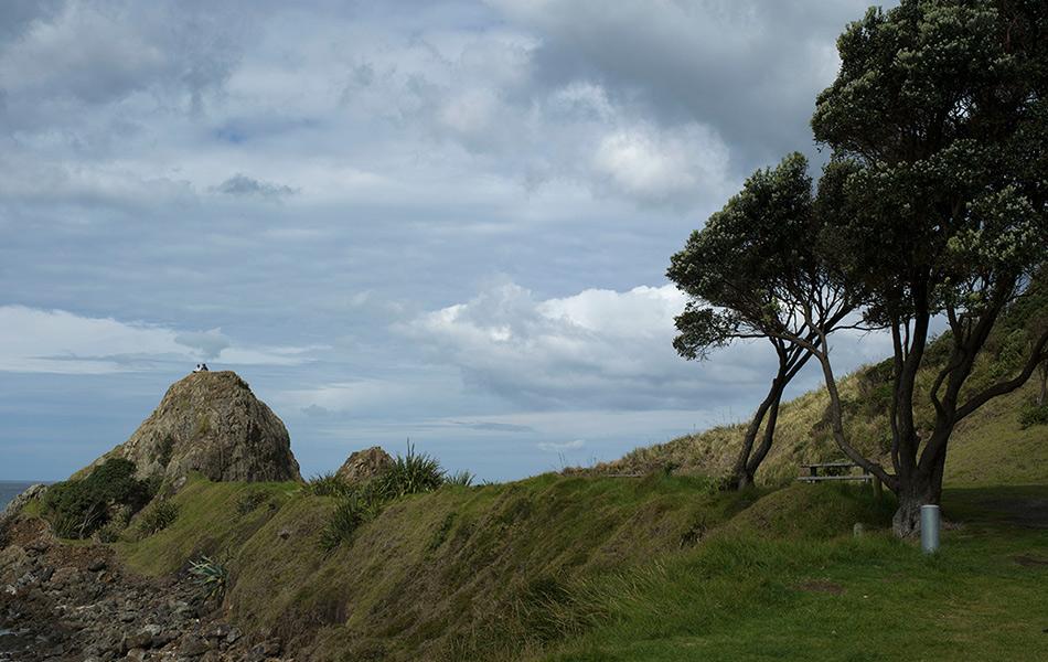 Поселение Те-Арай, Новая Зеландия. Широта: 36° 9` 35.9163