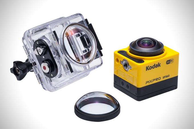 Kodak Pixpro: Kodak Pixpro SP360 пусть и выглядит как неумело украденная у конкурентов поделка, на деле является очень и очень серьезной, самобытной камерой. Создатели модели очень хорошо понимали, что взять рынок клоном, уже полюбившейся всем игрушки, невозможно. Поэтому камера Pixpro SP360 несет на борту ряд довольно внушительных инноваций.