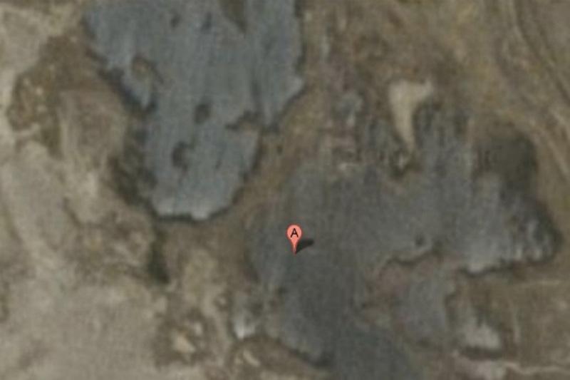 Хотя среди остатков Вавилона в 90 километрах к югу от Багдада есть только вековая пыль, город запрещен для показа на Google Maps.