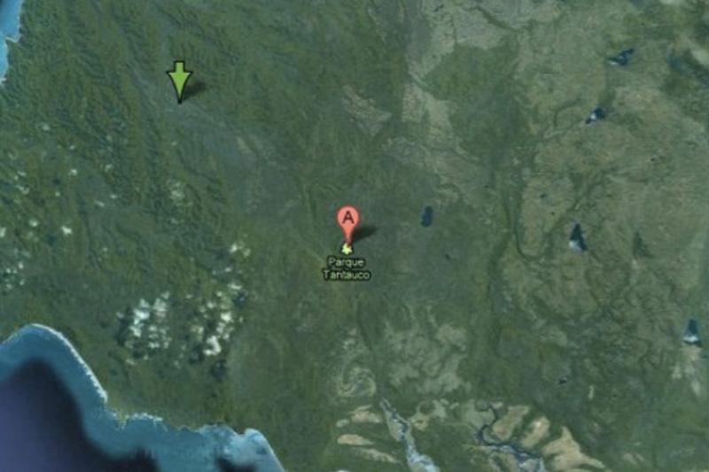 Национальный парк Тантауко, Чили. Вымирающие виды сотрудники Google, видимо, решили защитить и от пользователей интернета —на снимках заповедник полностью вырезан.
