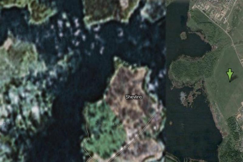 Согласно Википедии, в этом месте располагается «частный дворец исполнительного директора ОАО Газпром Алексея Миллера». На спутниковых снимках Google дом вырезан.