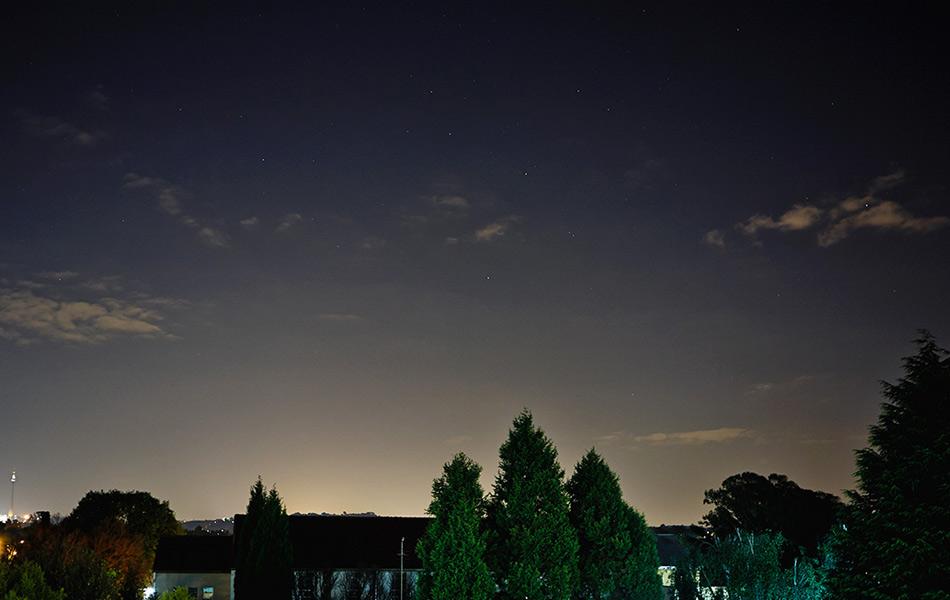 4:29, 23 сентября, Йоханнесбург, ЮАР. Фото: Рени Уоррингтон