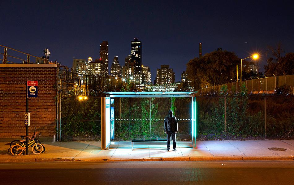 22:29, 22 сентября, Нью-Йорк, США. Фото: Флото и Уорнер