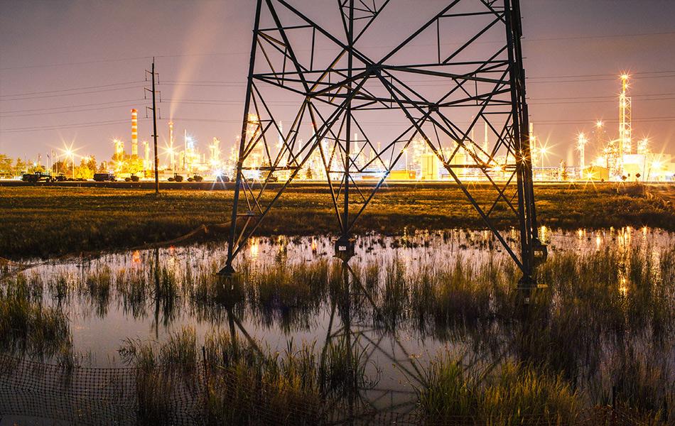 20:29, 22 сентября, Эдмонтон, Канада. Фото: Грант Хардер