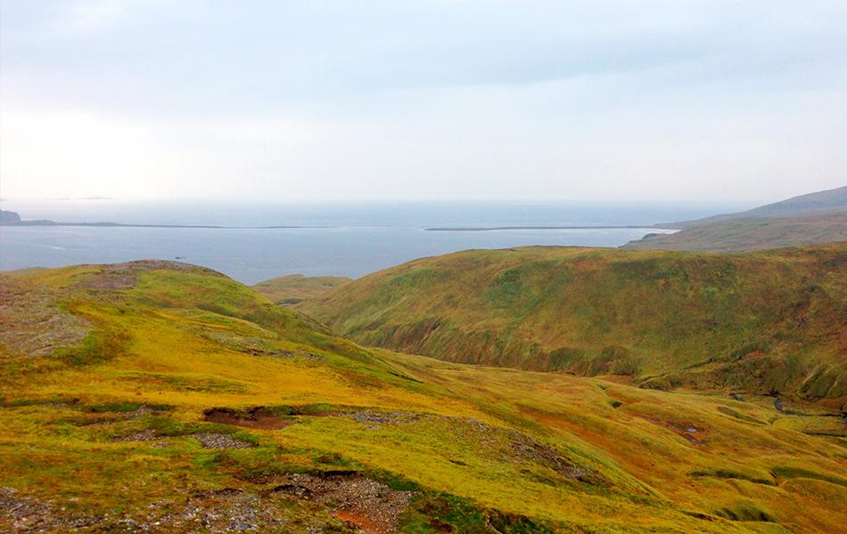 17:29, 22 сентября, Адак, Аляска. Фото: Келвин Кашеваров