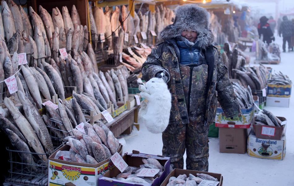 Изначально Оймякон был пристанищем оленеводов, но и охотничий промысел им не чужд.
