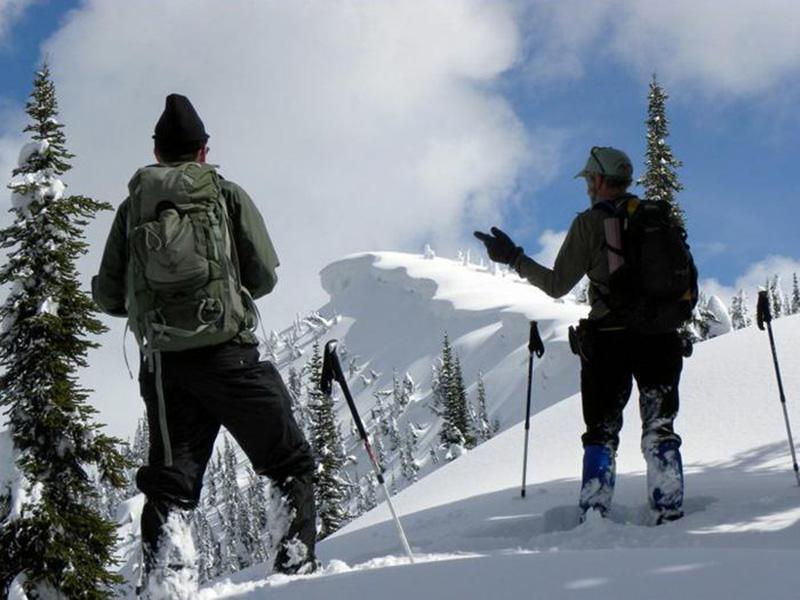 Правило №2 Нависшие глыбы снега — самые очевидные индикаторы того, в каком направлении дует ветер. Сильный ветер только добавляет к ним снега, что вместе с и без того огромной массой снега и внезапным потеплением может заставить глыбы обрушиться и вызвать таким образом лавину.