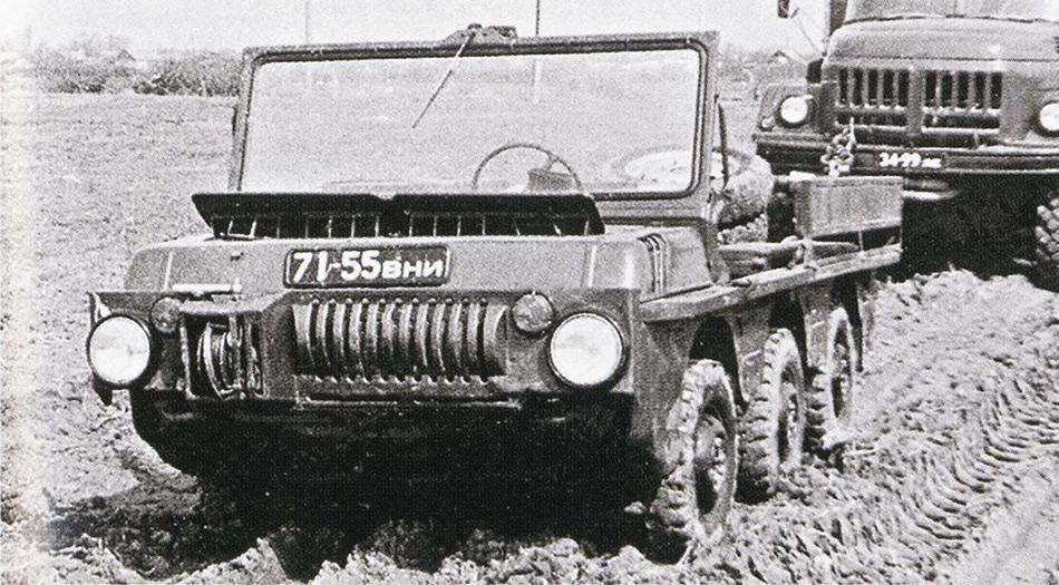 Вскоре советские инженеры догадались, что военную технику можно приспособить для нужд села, и таким образом на базе ТПК спустя десятилетие родилась «Волынь»—первый советский автомобиль повышенной проходимости.
