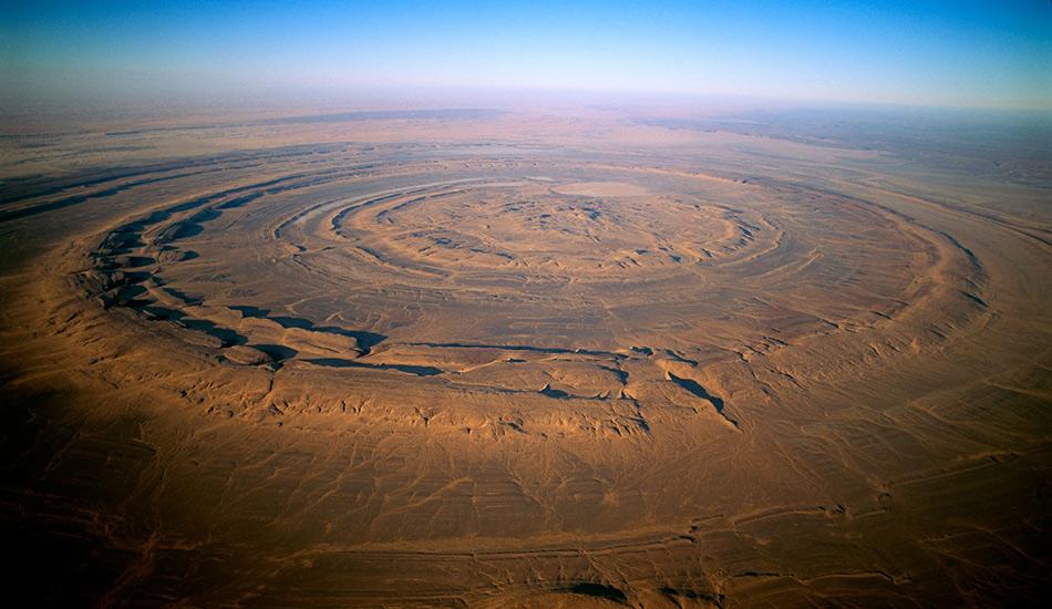 Долгое время, еще со времен первых космических миссий, структура Ришат служила ориентиром для космонавтов на орбите, так как среди обширного пространства ничем не примечательной пустыни представляла из себя хорошо видимый объект.