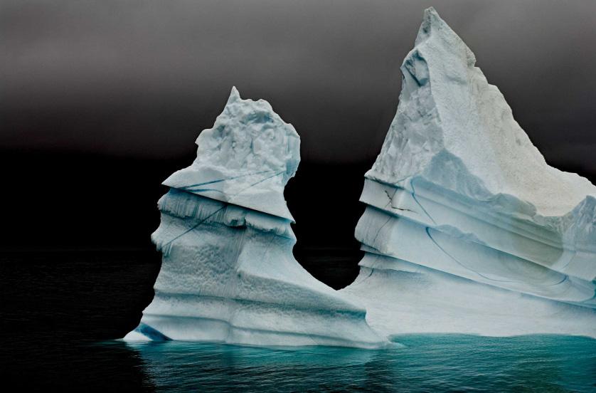 Айсберг «Великая вершина», Восточная Гренландия, август 2006.