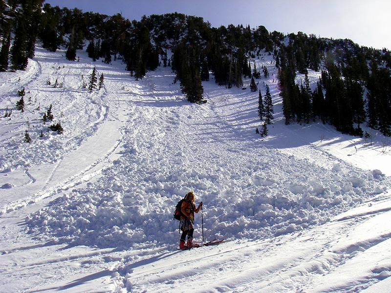Правило №4 Так называемые «лавины из точки» — один из видов лавин, начало движения которого, как правило, положено одним конкретным источником — например, вашими лыжами, прокатившимися по определенному участку, — а затем лавина начинает набирать обороты по принципу снежного кома.