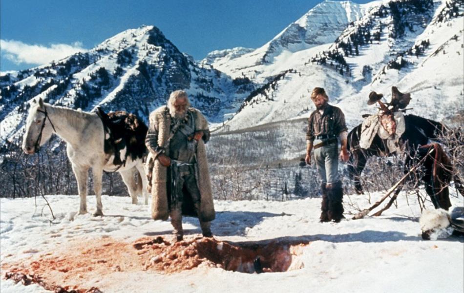 Иеремия Джонсон (1972) Роберт Редфорд — квинтэссенция мужчины в горах.
