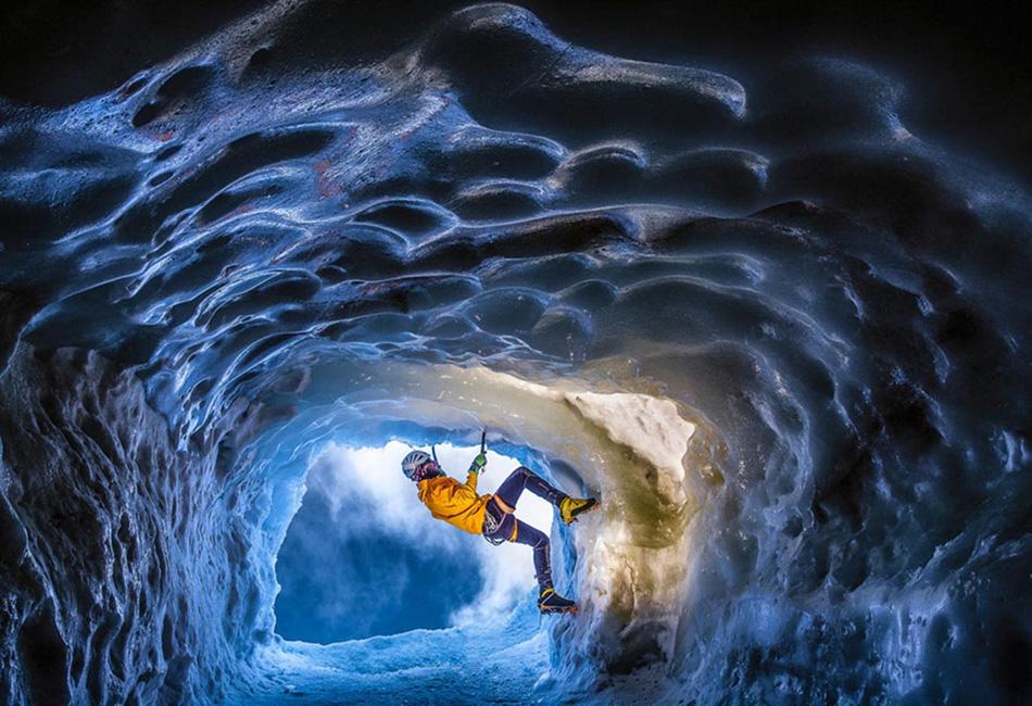 Ледяная пещера, Альпы
