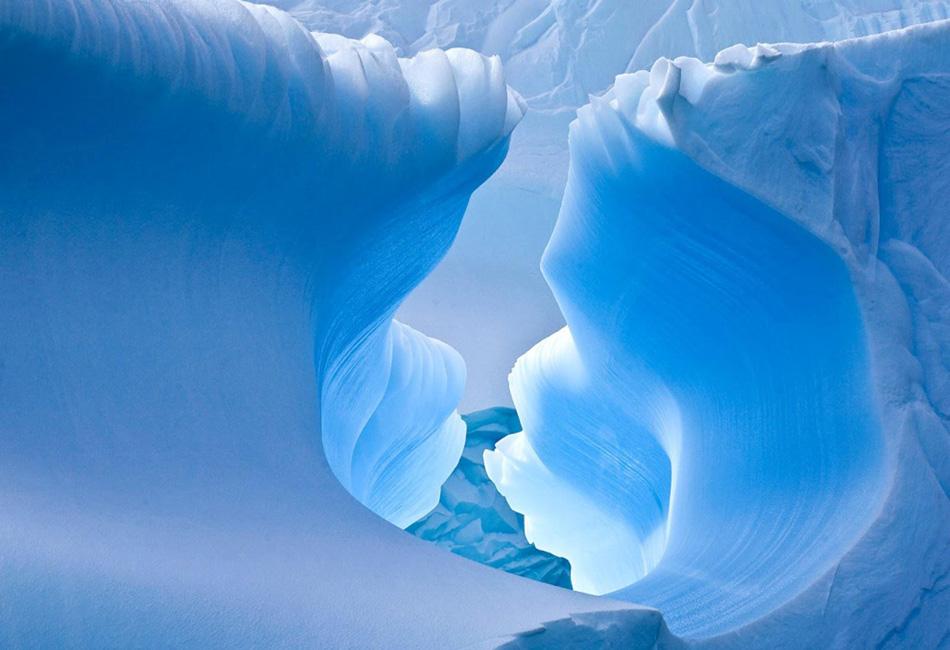 Снежная пещера, Антарктида