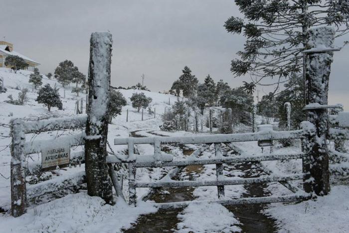 Бразилия В июле 2013 года снегом засыпало Бразилию. Под снежным покровом оказались 90 населенных пунктов страны. На юге страны столбик термометра опустился до минус 7 градусов. Заморозки также охватили Парагвай, Уругвай, Аргентину и Чили.