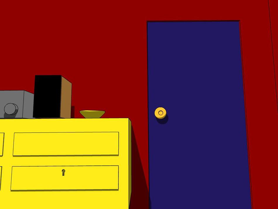 Escape the room — жанр компьютерных игр, поджанр квестов, основная цель которых — найти выход из запертого помещения, используя любые подручные средства. Родоначальником жанра является компьютерная DOS-игра 1994 года Noctropolis. Собственно же термин «Escape the room» был введён и популяризирован только в 2001 году после выхода нескольких новых игр, в числе которых популярная «Crimson Room», более известная, как «Красная комната» — первая игра от Тошимицу Такаги. О главном герое известно только, что он «прошлой ночью слишком много выпил». Он просыпается в странной комнате красного цвета. Дверь заперта. В комнате — кровать, тумбочка, музыкальный центр, блюдце, окно. Игроку предстоит найти 13 спрятанных предметов и понять взаимосвязь между ними, чтобы попытаться открыть дверь.