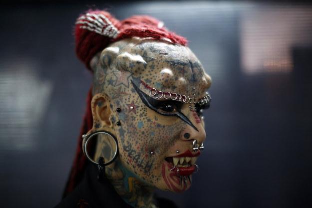 Мария Хосе Кристина, известная так же под именем «Женщина-Вампир».