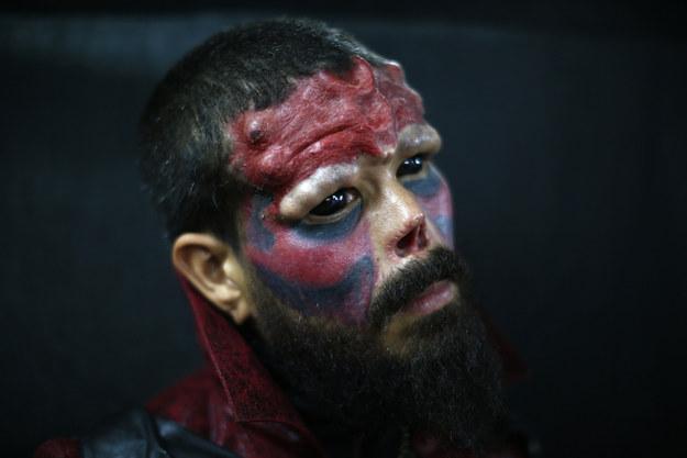 Генри Родригез, больше известный, как Красный Череп.