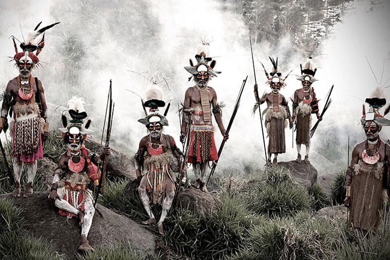 Горока,Индонезия и Папуа-Новая Гвинея
