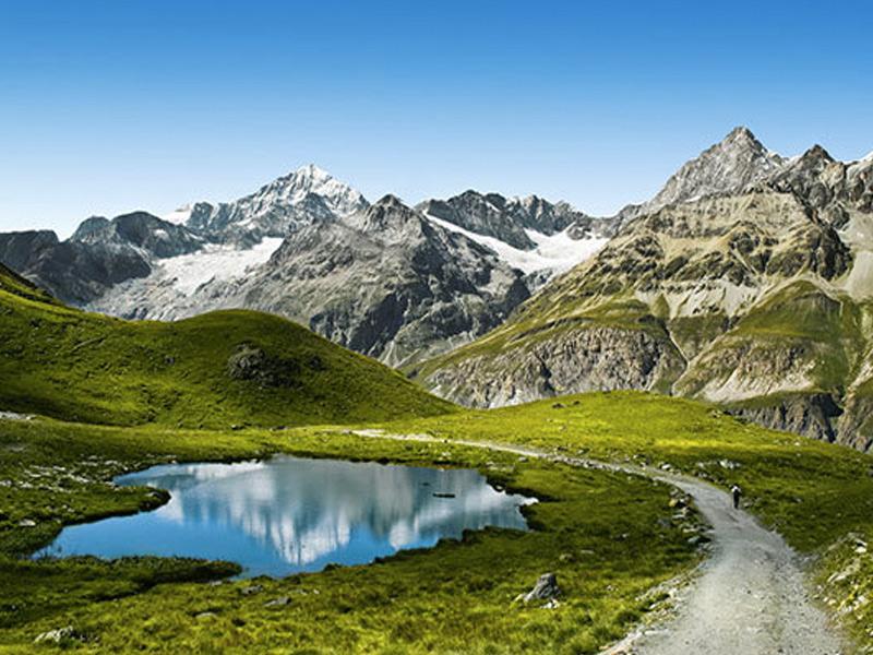 Швейцарский национальный парк, Швейцария Площадь: 172,4 км² Единственный национальный парк в Швейцарии находится в районе долины Энгадин. Парк включает в себя территорию Альп на высотах между 1400 и 3174 метров над уровнем моря. В условиях дикой природы в парке можно наблюдать за горными козлами, сернами, сурками, северными зайцами, ящерицами и бесчисленными птицами. В парке выделена 21 туристическая тропа, общей протяженностью 80 км.