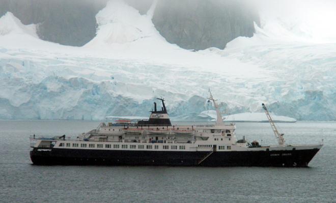В 1999 году судно «Любовь Орлова»было продано круизной компании Quark Expeditions, а в2010 году корабльпотеряли во время шторма. Многострадальный лайнер решил, в конце концов, пристать к берегу лишь в 2014 году, когда его обнаружил поисковый отряд.
