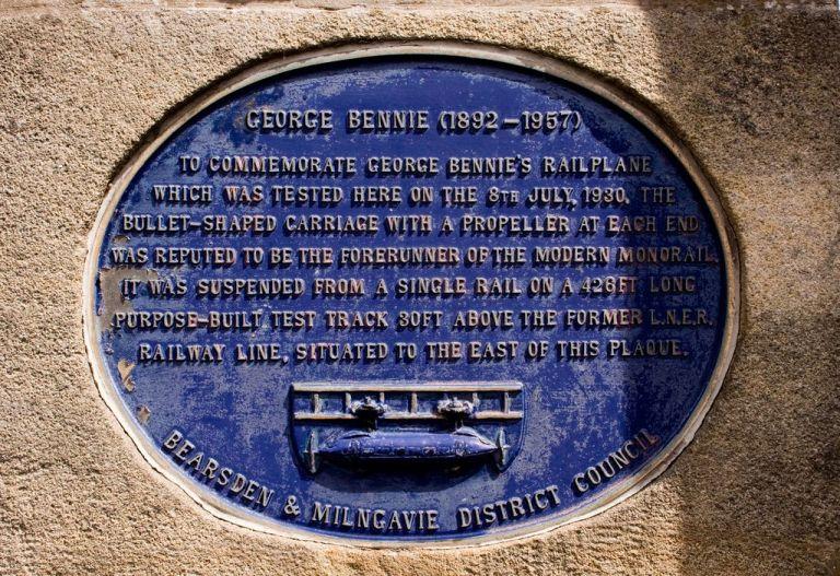 Конец проекта Когда Бенни в 1937 году обанкротился, так и ни цента не получив в поддержку своей идеи, на его проекте окончательно поставили крест. Испытательный полигон в 50-х разобрали на металл, а еще через 10 лет был уничтожен прототип поезда.