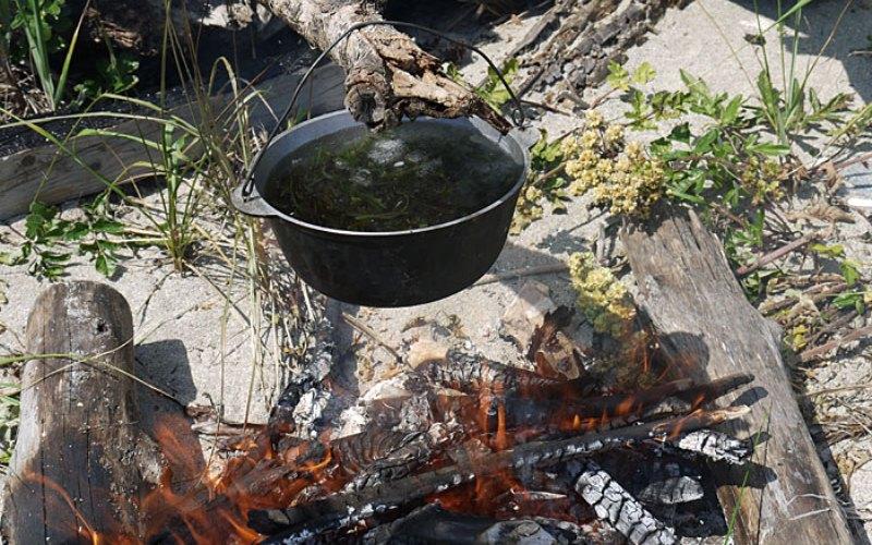 Кипячение Тут источники расходятся: по разным сведениям воду нужно кипятить 5, 10, 15 или 20 минут, до тех пор, пока все вредные организмы в ней не погибнут. Все это чушь. Как только вода закипает, она становится безопасной. Дальнейшее кипячение – просто бесполезная трата топлива.