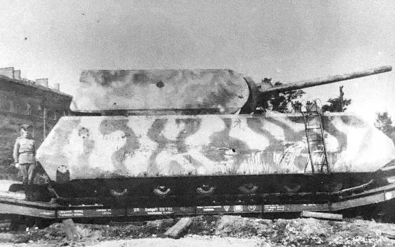 Panzer VIII Maus Спроектированный Фердинандом Порше