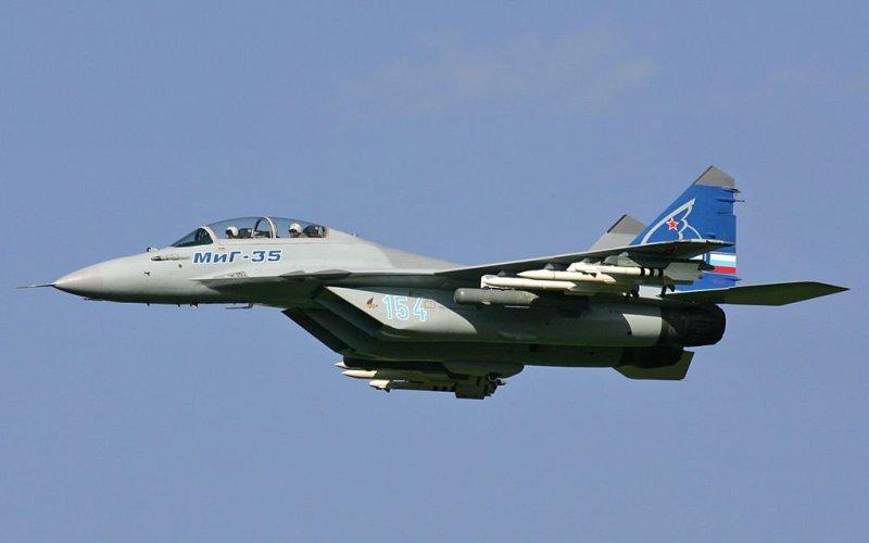 МиГ-35 Перспективный отечественный истребитель, на который возлагаются большие надежды на международном рынке, был создан на заменуМиГ-29.