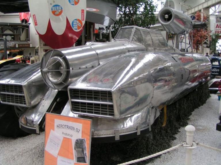 Воскресший из пепла Последний аэровагон был отреставрирован и показан на выставке «Retromobile» в Париже в 2001 году. Кроме этого демонстрационного экземпляра единственным напоминанием об эпохе реактивных поездов являются только руины бетонного трека, созданного для аэровагона Бертена.