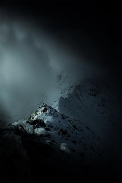 Грек Виттон. Вторая премия номинации «Жить приключением». Горы в национальном парке Озерный край, Англия.