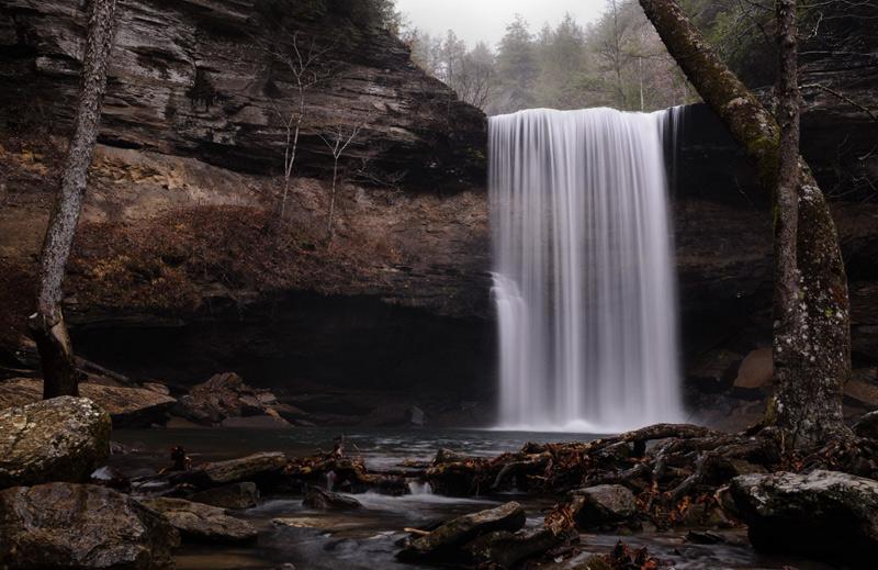 Спенсер Кокс. Вторая премия номинации «Юный фотограф года». Водопад.
