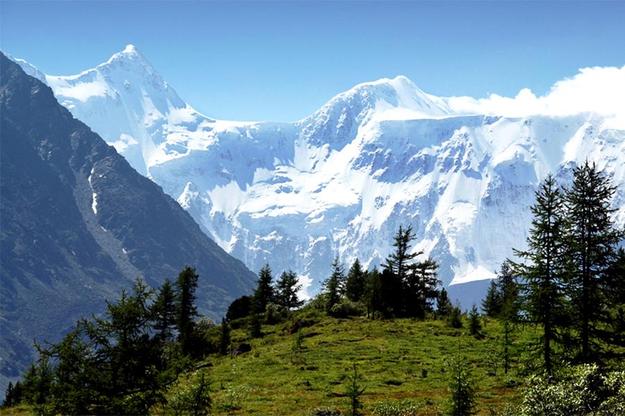 Гора Белуха Алтай Эта гора — высочайшая точка горного Алтая. Здесь расположено множество ледников, из-за чего подняться на гору могут рискнуть только самые опытные альпинисты.