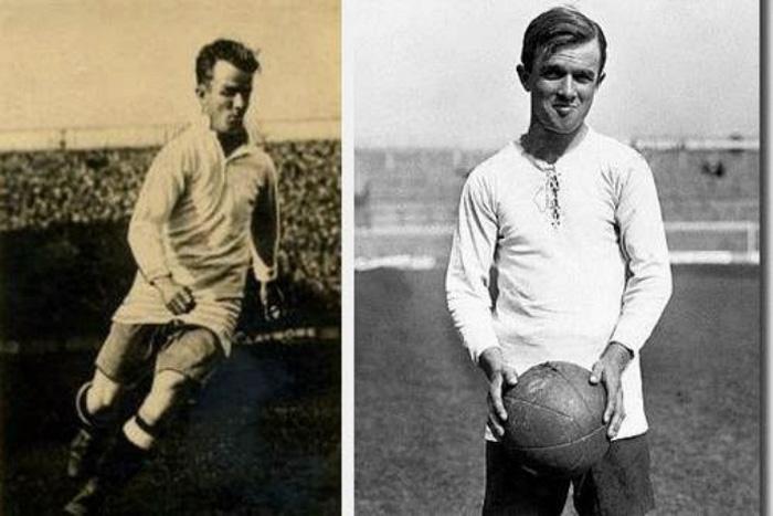 Фредерик (Фанни) Уолден Футбол В течение нескольких лет Фредерик играл в местных футбольных клубах, а в 1909 году в составе «Нортгемптон Таун» он начал свою профессиональную карьеру. За его рост в 157 см. его прозвали «миниатюрный вингер».Фредерик вошел в историю как самый низкий игрок, который когда-либо играл за национальную команду Англии.