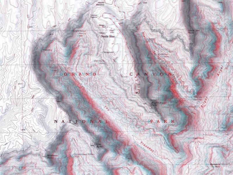 Оптические иллюзии Гранд-Каньона