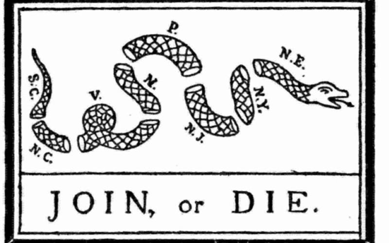 Сыновья свободы Организация была основана в 1765 году Сэмюэлем Адамсом. Целью членов общества была борьба за самоопределение североамериканских колоний. Их девизом стала фраза «Нет налогам без представительства». Политика сопротивления общества включала распространение тематических брошюр, акции протеста и открытые насильственные действия против британских властей, за что их деятельность приравняли к преступной и начали преследовать. После отмены закона о гербовом сборе в 1766 году организация самораспустилась.