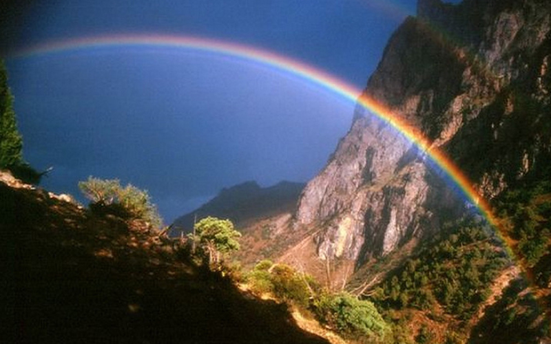 Радуга Радуга на востоке значит, что дождь уже прошел, на западе — приближение фронта, насыщенного влажным воздухом.