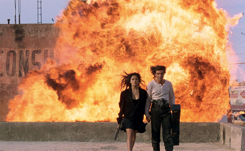 Сквозь пламя Главный герой на то и главный, поэтому за секунду до взрыва он точно знает в какую сторону и куда надо прыгать. Дверь, окно — будь рядом хоть какой-то проем, он непременно выйдет невредимым из здания. На практике взрывная волна перемещается быстрее человека. Простому смертному не стоит рассчитывать на то, что увернуться от нее можно, лишь быстро среагировав и прыгнув в сторону.
