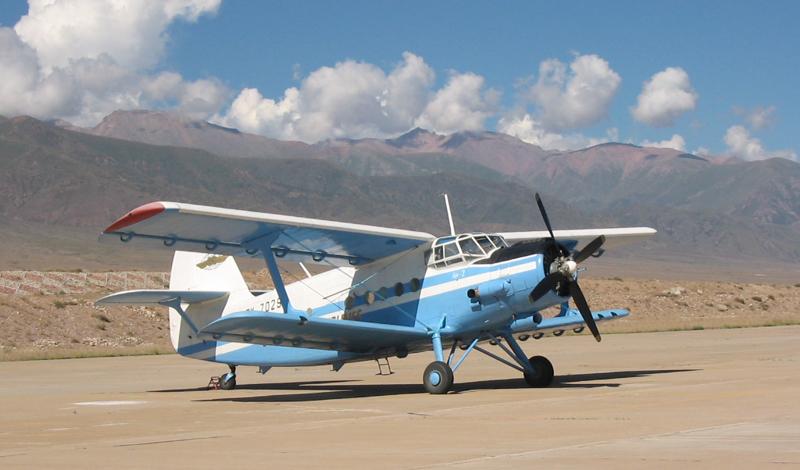 Ан-2 прыжки с парашютом в Казахстане