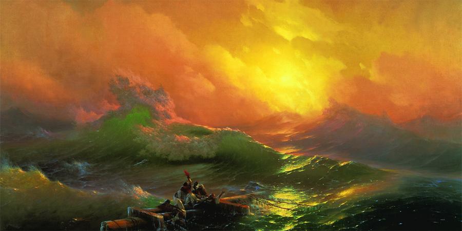 Волна Дропнера Очень долгое время, гигантские блуждающие волны-убийцы считались досужим вымыслом. И это совершенно понятно — вы только прочтите название еще раз! К тому же, существовавшая математическая модель появления морских волн просто не допускала существования внезапно возникающей стены воды высотой более двадцати метров. Но 1 января 1995 года, математикам пришлось разрабатывать аналитическую систему заново: появившаяся у нефтяной платформы «Дропнер» волна превышала 25 метров. Миф оказался правдой, а моряки долгое время не знали, радоваться ли им подтвержденной байке, или начинать бояться уже вполне реальных волн-убийц.