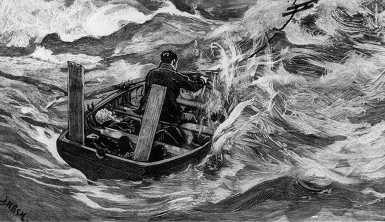 Дело Дадли и Стивенса Год события: 1884Место: открытый океанВыжившие: 2 человека из 4 Это дело примечательно тем, что открыло новый виток судопроизводства — над вопросом, могут ли люди совершить настолько тяжкое преступление по крайней необходимости, бились все суды Англии. Четверо моряков оказались посреди открытого океана. В шлюпке оказался молодой юнга, находящийся при смерти. Его и решили съесть матросы Дадли и Стивенс. Всех выживших приговорили к 17 годам заключения — не так уж и много за человеческую жизнь.