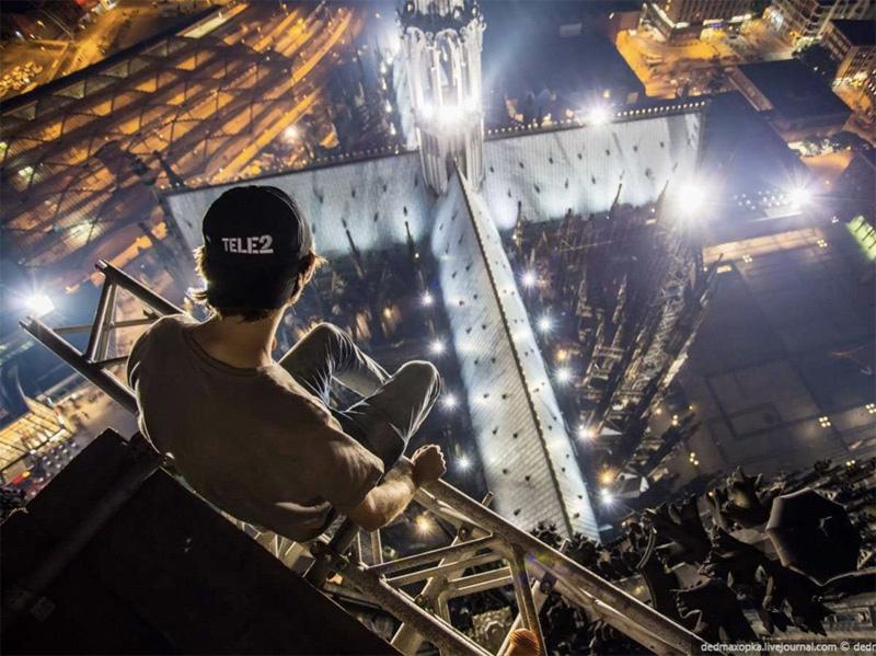 Главной целью посещения Кельна был снимок с крыши 3-го по высоте собора в мире — Кельнского собора.