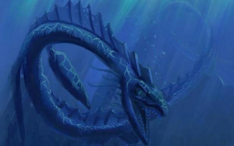 Лагарфльоутский змей Нет ничего удивительного в том, что в Исландии, острове, где до сих про верят в троллей и духов, имеется собственное озерное чудовище. Так называемый Лагарфльоутский змей или червь живет, как нетрудно догадаться, в озере Лагарфльоут. Впервые с гигантским стометровым (длина футбольного поля!) змеем столкнулись техники, прокладывавшие через озеро телефонный кабель в 1983 году. Вскоре выяснилось, что кабель что-то (или кто-то?) повредило. Но, как и что, выяснять уже никто не захотел.