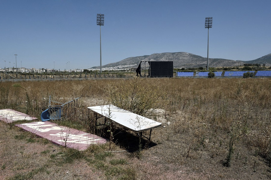 Стадион для игры в бейсбол.