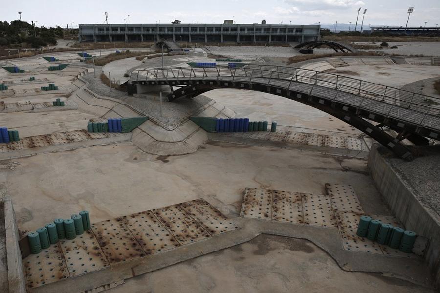 Это был первый олимпийский объект, который должен был быть заполнен соленой водой вместо пресной.