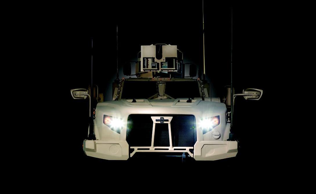 На испытаниях Oshkosh JLTV показала скорость, на 70% превышающую возможности конкурентов.