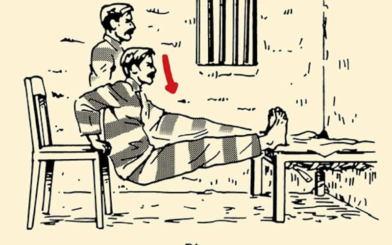Обратные отжимания Заключенные выполняют обратные отжимания упираясь руками в стул и поставив ноги на пол или кровать. Ты можешь усложнить себе задачу, поставив себе на колени разные тяжелые предметы. С помощью обратных отжиманий ты проработаешь свои трицепсы, мышцы груди, плеч и корпуса.